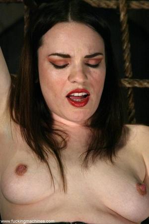 Busty MILF bound in chains got deep fucked by sex machines - XXXonXXX - Pic 6