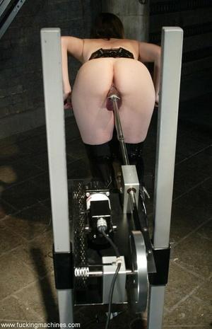 Busty MILF bound in chains got deep fucked by sex machines - XXXonXXX - Pic 10