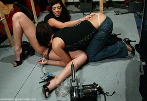Dildo machines gave two horny dolls an amazing orgasm - XXXonXXX - Pic 3