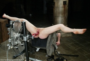 Red-haired cutie machine hard fucked her pink pussy - XXXonXXX - Pic 10
