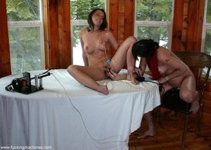 Sweet busty MILFs have fun playing with sex machines - XXXonXXX - Pic 12