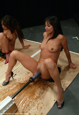 Three ladies get pussy and assfucked by machine dildos - XXXonXXX - Pic 8