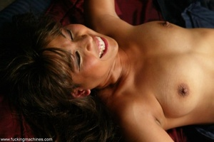 Lady has an incredible orgasm on top of sybian machine - XXXonXXX - Pic 8