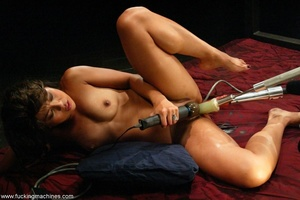 Lady has an incredible orgasm on top of sybian machine - XXXonXXX - Pic 14