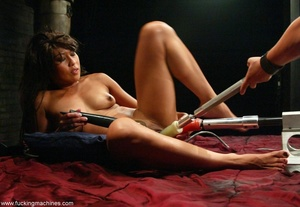 Lady has an incredible orgasm on top of sybian machine - XXXonXXX - Pic 15