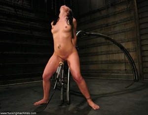 Machine driven dildos infiltrated inside a sweet pussy - XXXonXXX - Pic 16
