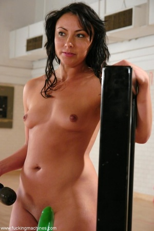 Curly-haired bitch was having some fun with sex engines - XXXonXXX - Pic 15