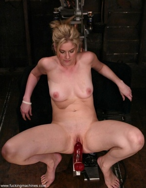 Dirty-minded blonde uses sex machines to get a hot orgasm - XXXonXXX - Pic 8