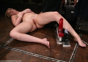 Dirty-minded blonde uses sex machines to get a hot orgasm - XXXonXXX - Pic 10