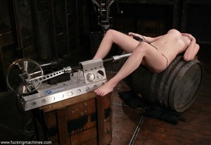Dirty-minded blonde uses sex machines to get a hot orgasm - XXXonXXX - Pic 18