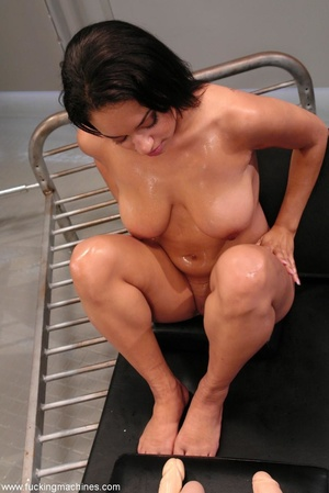 Naked woman has an intense orgasm from fucking machines - XXXonXXX - Pic 5
