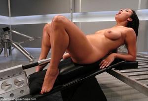 Naked woman has an intense orgasm from fucking machines - XXXonXXX - Pic 10