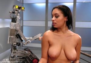 Naked woman has an intense orgasm from fucking machines - XXXonXXX - Pic 13