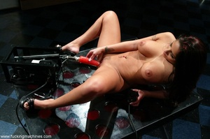 Sweet lady gets her pussy wrecked by a sybian machine - XXXonXXX - Pic 11