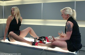 Sweet blondes decide to try their new fucking engine - XXXonXXX - Pic 1