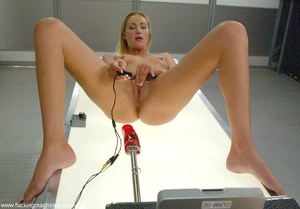 Machine penetrated hard pretty lady's ass and pussy - XXXonXXX - Pic 12