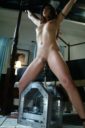 Nasty MILF gets tied to bed and fucked by a machine - XXXonXXX - Pic 16