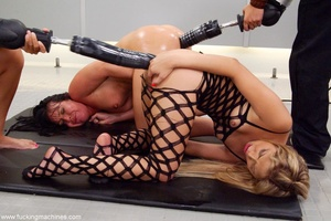 Naughty bitches get attached to breast pump machines - XXXonXXX - Pic 12