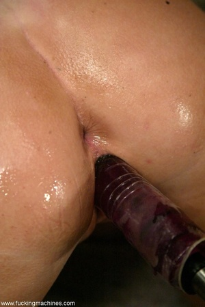 Doll gladly rides a fucking machine and squirts all over - XXXonXXX - Pic 7