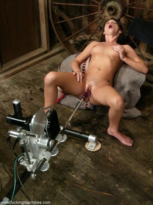 Doll gladly rides a fucking machine and squirts all over - XXXonXXX - Pic 10