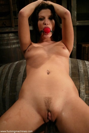 Hot babe having a great time with a fucking machine - XXXonXXX - Pic 12