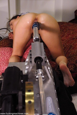 All her holes of stunning girl get fucked by a machine - XXXonXXX - Pic 10