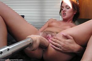 Fucking machine gets a naughty redhead bitch squirting - XXXonXXX - Pic 4