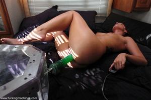 Fucking machine gets a naughty redhead bitch squirting - XXXonXXX - Pic 16