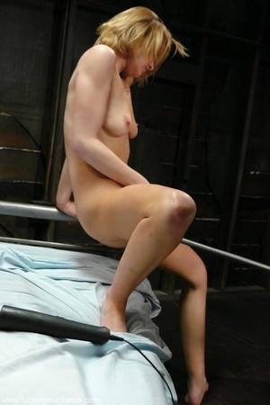 The new sybian machine helps gorgeous woman to have fun - XXXonXXX - Pic 11