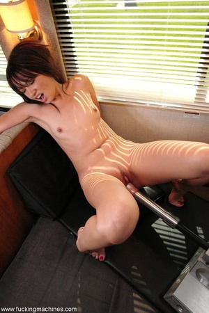 Cute doll enjoys getting fucked by a huge sex machine - XXXonXXX - Pic 16