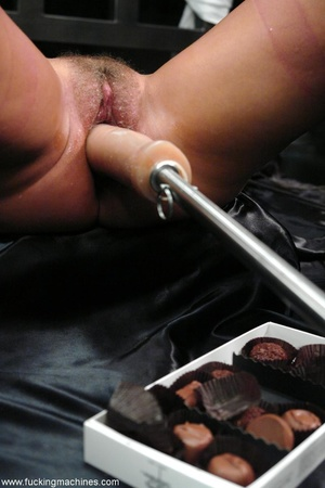 Lady tied to a body chain and tortured by a hot slut - XXXonXXX - Pic 9