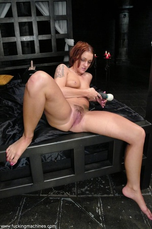 Lady tied to a body chain and tortured by a hot slut - XXXonXXX - Pic 18