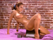 hungarian brunette with huge