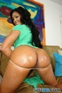 Sexy latina with oiled big fat ass shows off perfect body