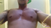 large musculous guy with