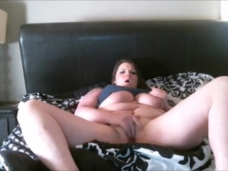Fat brunette whore is ready to drill her holes with sex - Picture 1