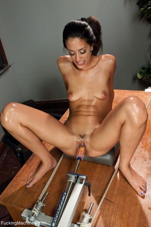 Slender brunette with small titties gett - XXX Dessert - Picture 12