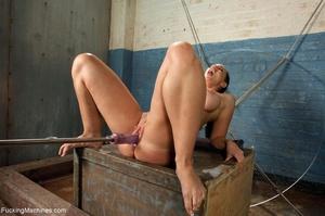 Brunette bitch with a bubble butt gets d - XXX Dessert - Picture 10