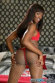 black girl with big