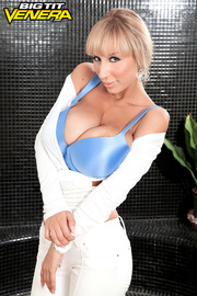 busty barbie white outfit