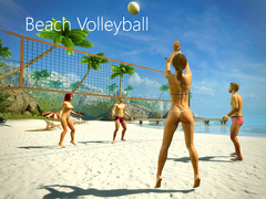Beach volleyball and hot babes in various dress - Picture 4
