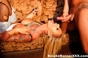 cock sucking hot blonde