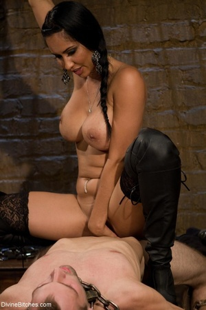 Ass-licking loser is bound with chain an - XXX Dessert - Picture 16