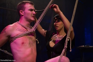 Ball-stretching, pinching and rope-tying - XXX Dessert - Picture 2