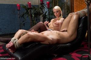 Hot MILF Mistress in a sexy pink dress e - XXX Dessert - Picture 13