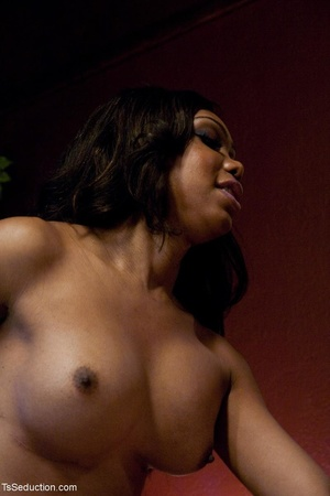 Ebony Mistress with a dick plays rough w - XXX Dessert - Picture 13