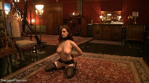 Demure, attractive slave is attached to  - XXX Dessert - Picture 3