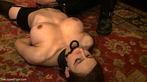 Demure, attractive slave is attached to  - XXX Dessert - Picture 9