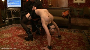 Demure, attractive slave is attached to  - XXX Dessert - Picture 10