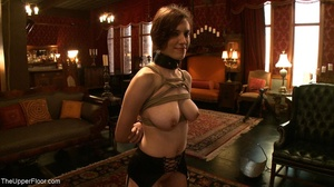 Demure, attractive slave is attached to  - XXX Dessert - Picture 12